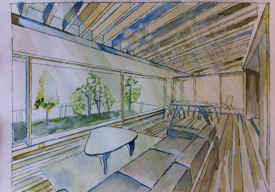 Architectural Sketching with Laila (At-Home)
