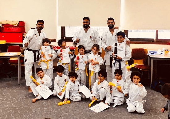 Kids Karate Classes - Ages: 3-4 (Al Wahdah)