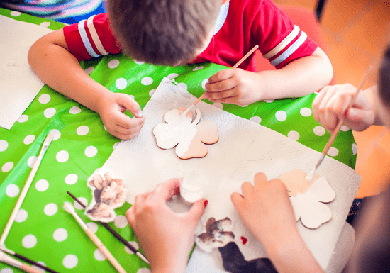 Private Decoupage Crafting for Kids - Ages: 6-14