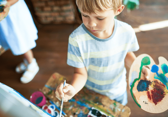 Painting for Kids - Ages: 4-10