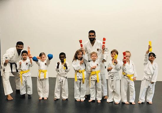 Kids Karate Classes - Ages: 3-4 (Al Danah)