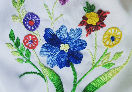Private Hand Embroidery With Ayesha