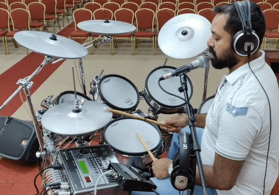 Beginner's Drum Lessons With Ratish