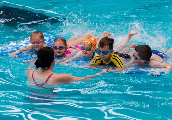 Group Swimming Classes for Kids - Ages: 3-12