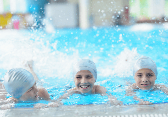 Group Swimming for Kids - Ages: 2-17