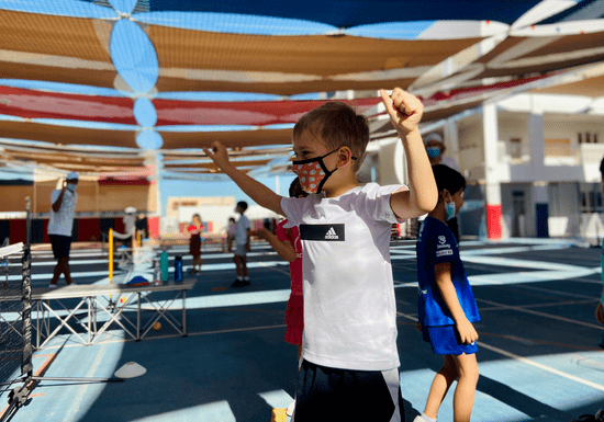 Group Tennis Coaching for Kids - Ages: 4-12 (Umm Suqeim)