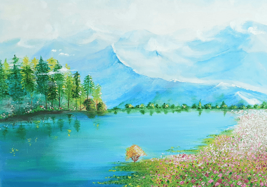 Canvas Oil Painting for Ladies Only