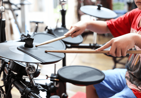 Drum Classes for Kids & Teens - Ages: 5-16