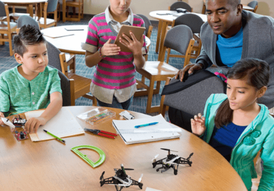Drone Technology with Python for Kids - Ages: 10-16