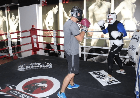 Boxing Training with a Private Coach