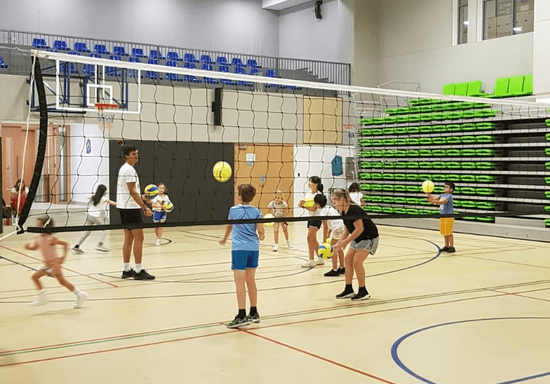 Kids Volleyball - Ages: 6-12 (Emirates Hills)