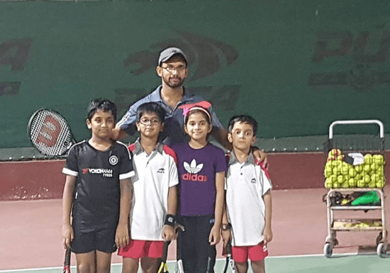 Group Tennis Lessons - Ages: 4-17