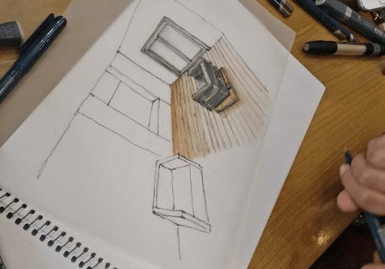 Interior Perspective Sketching Workshop