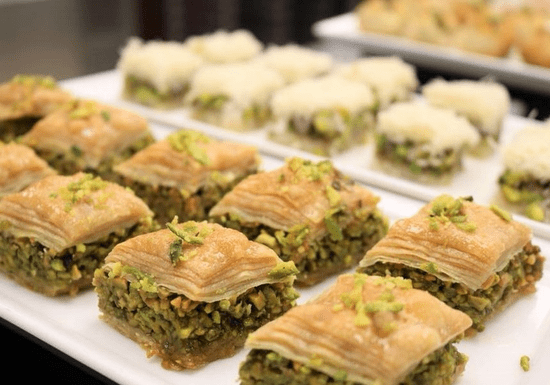 Masterclass: Arabic Sweets