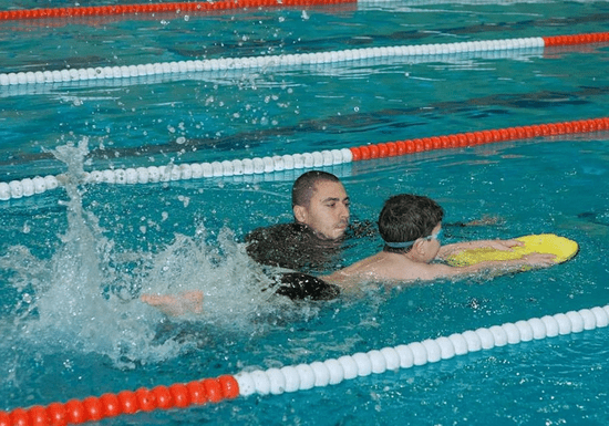 Swimming for Kids with Male Instructor - Ages: 3.5-15 (MBZ City)