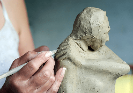 Sculpture Clay Modeling with Toma