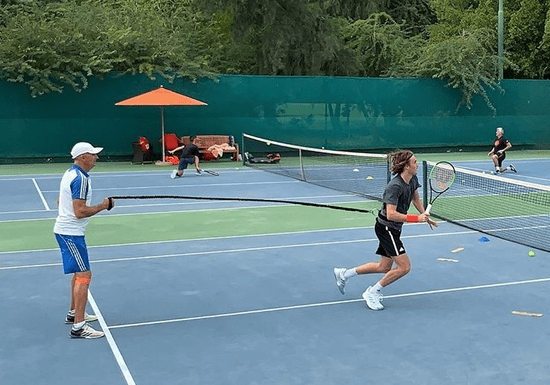 Private Tennis Training With Davide Giusti