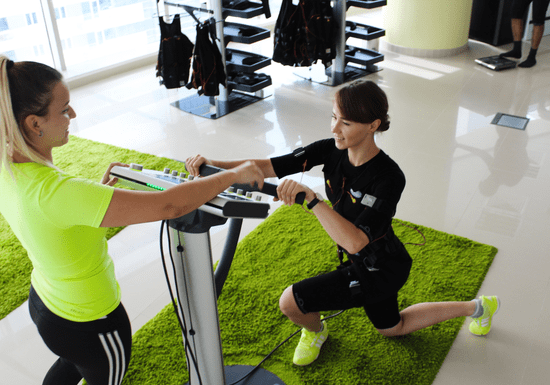 Electrical Muscle Stimulation (EMS) With Private Trainer - Business Bay