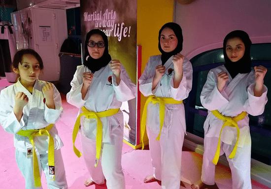 Ladies Karate & Kickboxing Classes (Khalifa City)