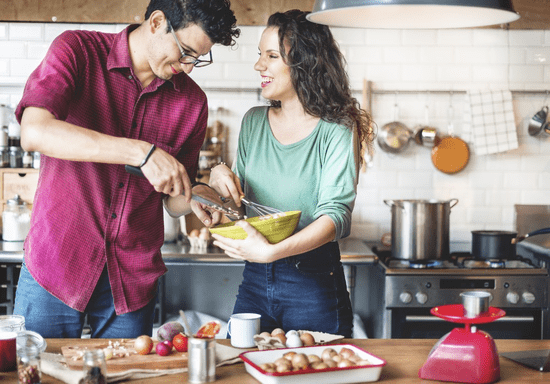 Cooking for Two: Prepare a Meal with Your Partner