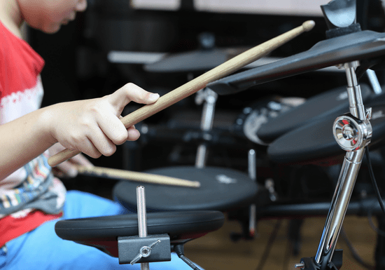 Drums for Kids- Ages: 5-14