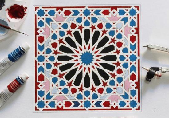 Online Class: Islamic Geometry & Square Kufic Arabic Calligraphy