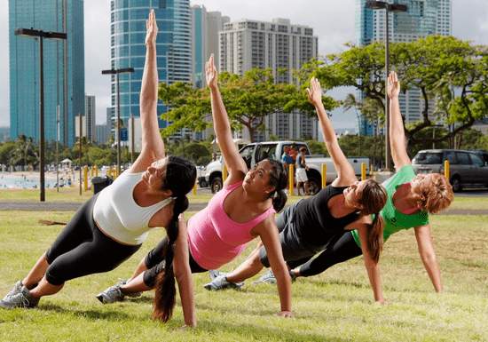 Group Fitness Boot-Camp with Moe Khattab