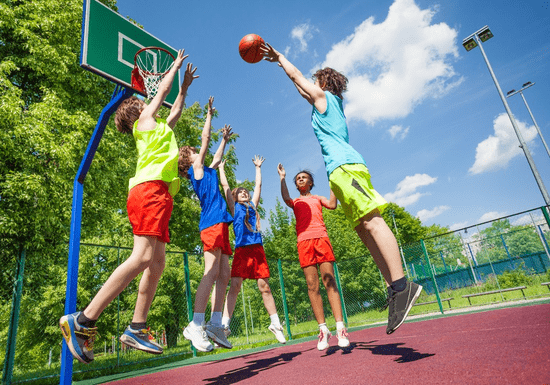 Basketball Program for Kids - Ages: 8-11 (DMC)