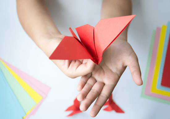Private Origami Making for Kids - Ages: 6-14