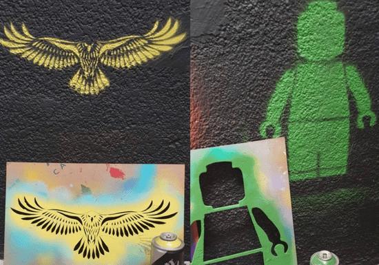 Graffiti Stencil Making