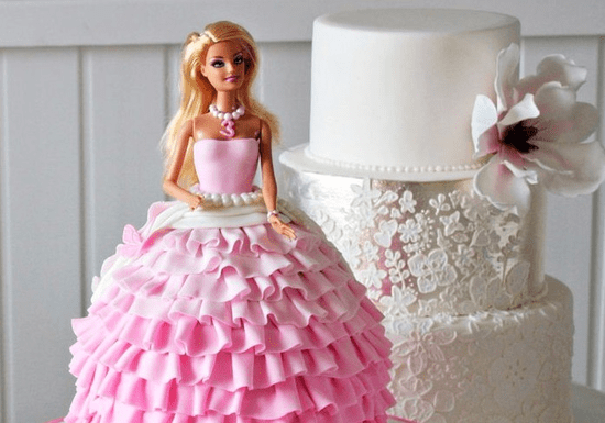 Princess Doll Cake & Decoration