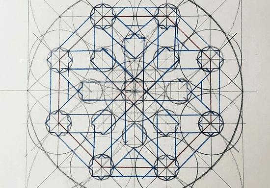 Draw Islamic Geometry Art Skilldeer