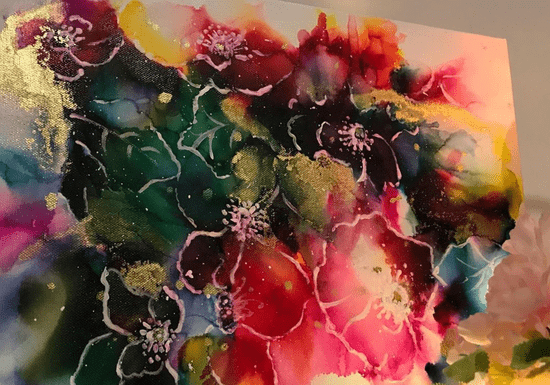 Online Class: Abstract Art with Air Brush