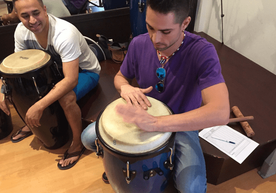 At-Home Drums & Latin Percussion Class with Ernesto