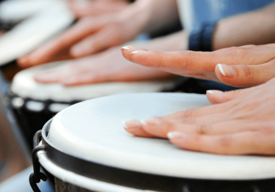 At-Home Djembe Drum Class