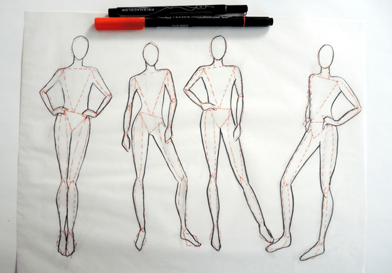 Fashion Figure Drawing for Beginners