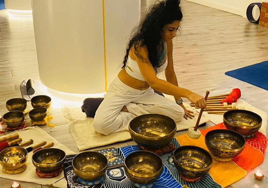 Yin Yoga with Sound Bath (1-on-1 Sessions)