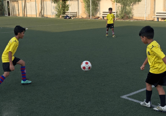 Football Coaching for Kids - Ages: 7-9 (Oud Metha)