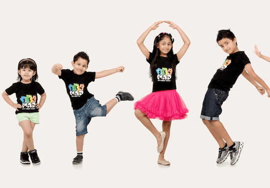 Bollywood Freestyle Dance Choreography for Kids - Ages: 3-6