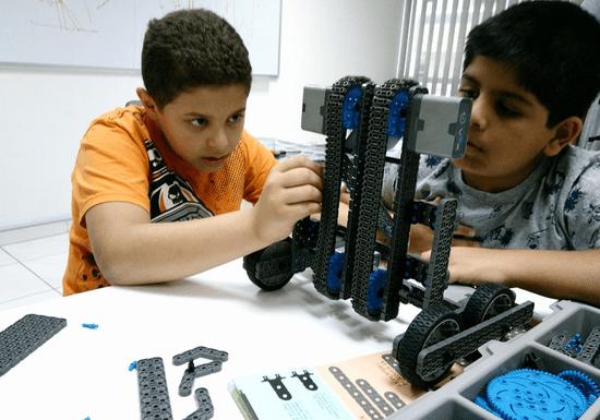 Robotics using VEX IQ Basic Level for Kids - Ages: 9-14