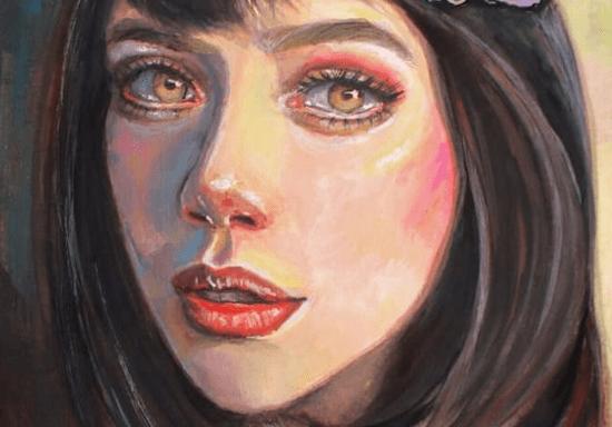 Portrait Painting - Oil, Gouache or Acrylic