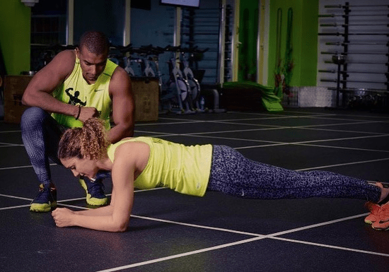 Personal Training with Male Instructor