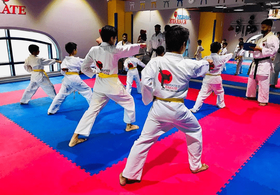 Junior Karate Classes - Ages: 11-15 (Khalifa City)