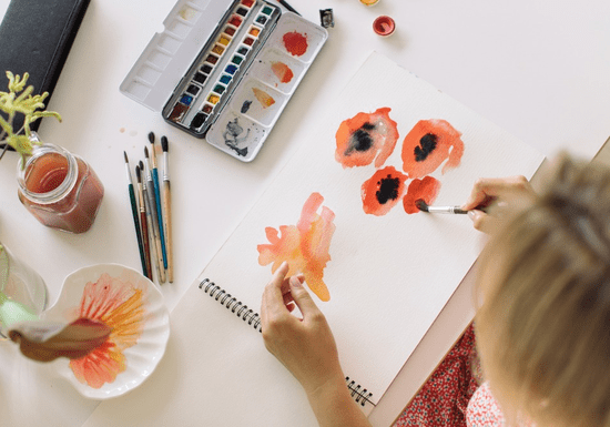 Online Class: Quick Watercolor Art