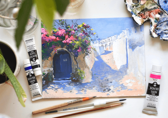 Intro to Gouache Painting for Beginners