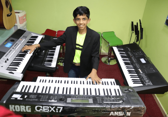 Learn Keyboard or Piano for Kids - Ages: 4-16