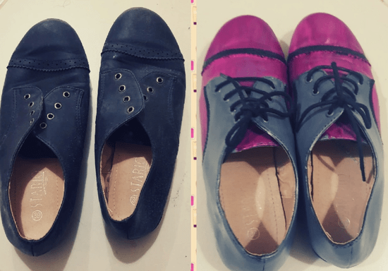 Turn Old Shoes to New Ones with Shoe Painting
