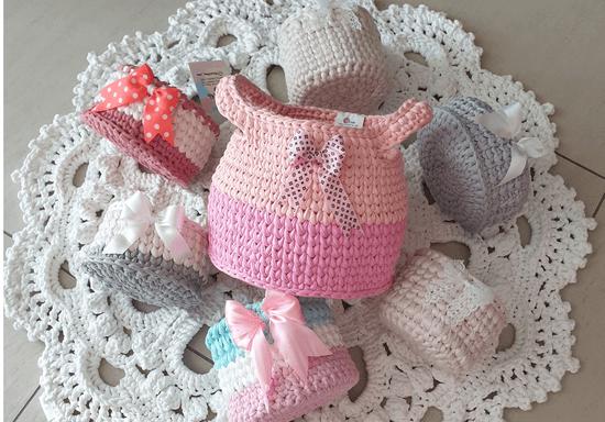 Crochet Your Own Rug, Blanket or Baskets Set