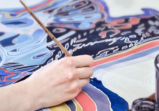 Online Class: Fabric Material Painting with Luna