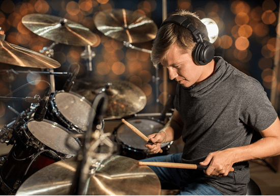At-Home Drums Lessons with Daylin (1-on-1)